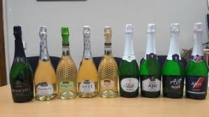 Le bottiglie di falsi Prosecco e Asti scovate in Ucraina