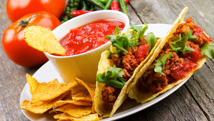 bigstock-Plate-With-Taco-Nachos-Chips-42261103