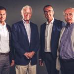 CONSIGLIO DI SORVEGLIANZA Da sinistra verso destra: Christoph Mack, Roger Gabb, Giorgio Rubini e Alfeo Martini.